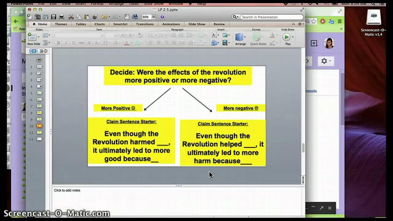 how to write a claim paragraph