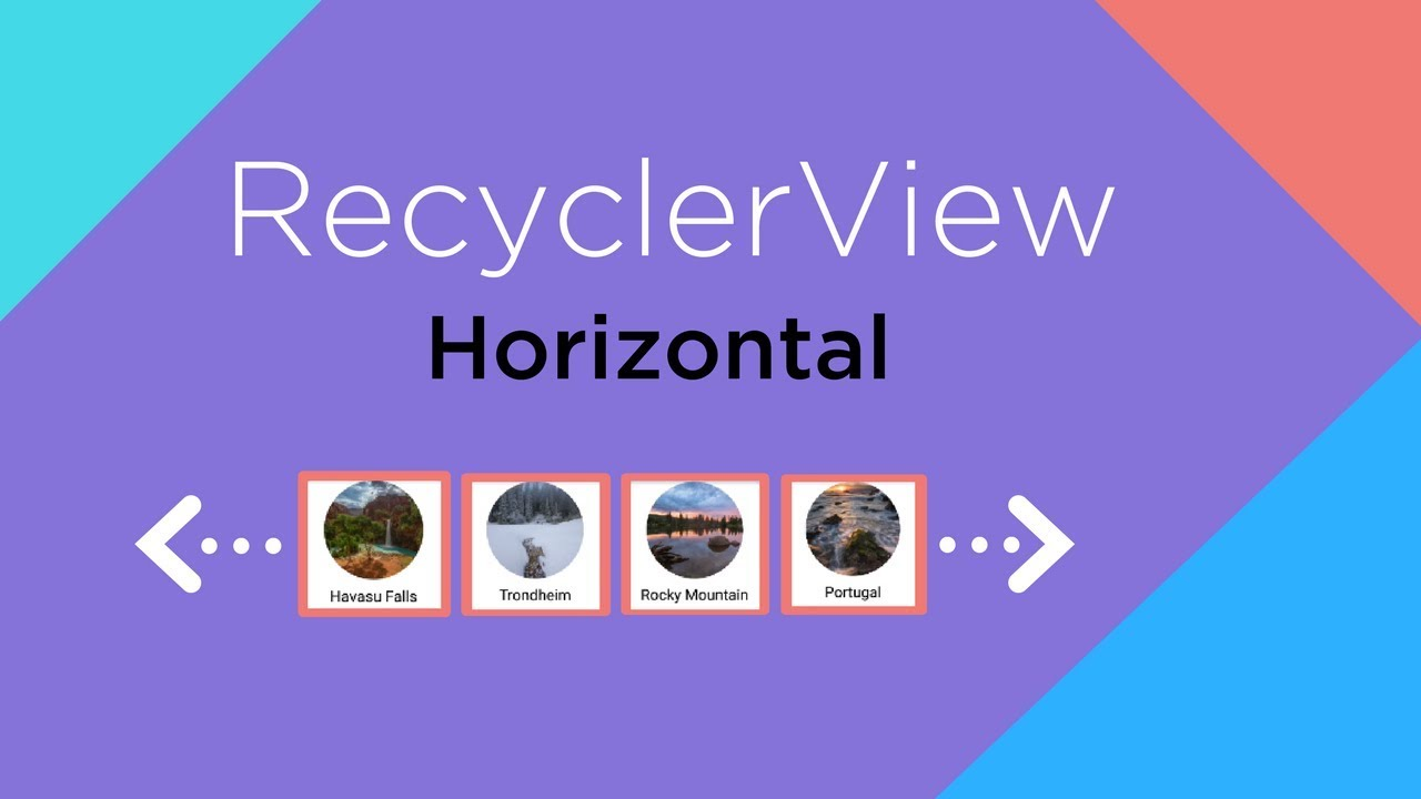 Horizontal RecyclerView