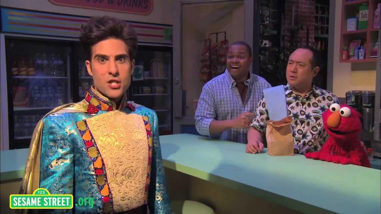 See Jason Schwartzman Parody Iron Chef on Sesame Street