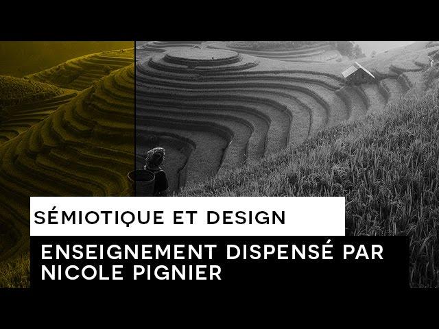 Sémiotique et design