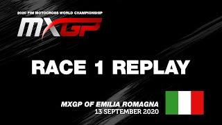 MXGP of Emilia Romagna 2020  Replay MXGP Race 1