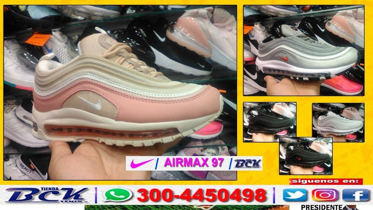 Tenis Zapatillas Nike Air Max 97 Mujer