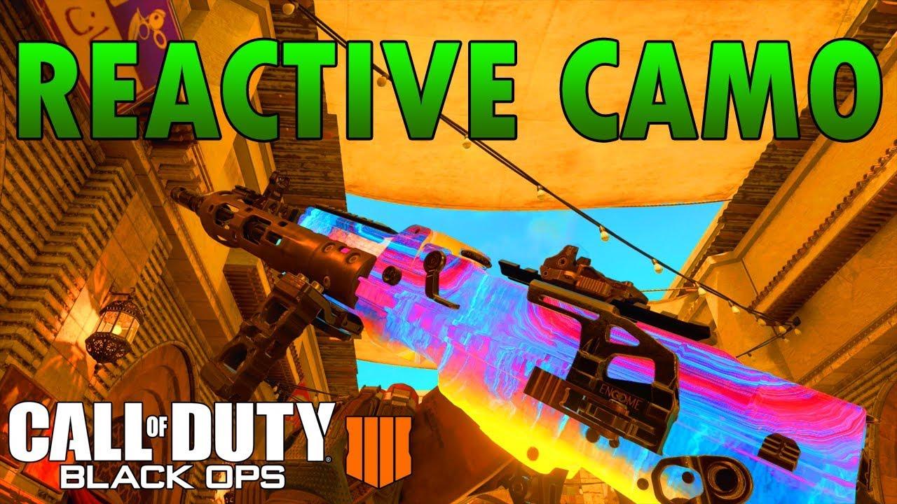 zombie flick reactive camo