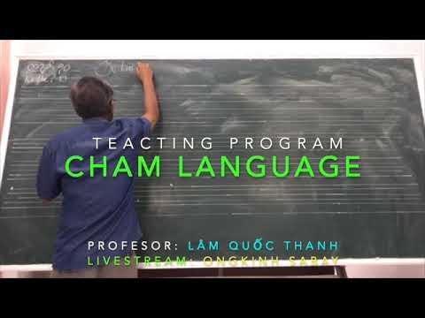 Dạy học tiếng Cham - Bài #10