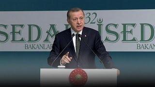 AP'deki Türkiye oylaması öncesi Erdoğan'dan Batı'ya