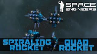 Spiraling Rocket - Space Engineers Invention