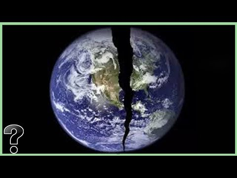 What If The Earth Split In Half?
