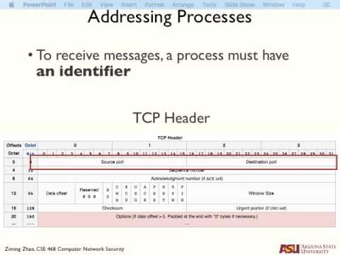 CSE468 Transport Layer and Security Concepts