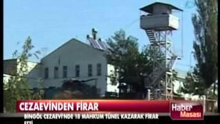 18 mahkum Bingöl Cezaevi'nden nasıl kaçtı?