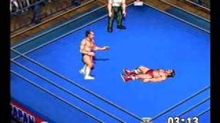 Fire Pro Wrestling Z Gameplay Video 3