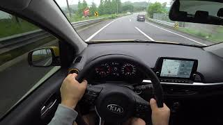 KIA Picanto(morning) POV test drive