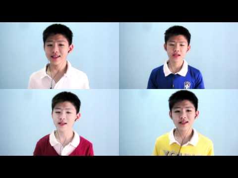 ♫ Lagu Wilayah Persekutuan / Federal Territories Anthem ♫ | Gloson multitrack quartet