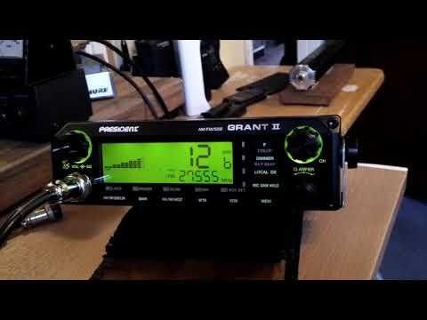 President Grant 2 CB Radio