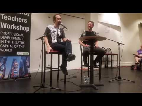 Broadway Teacher's Workshop with Lin Manuel Miranda