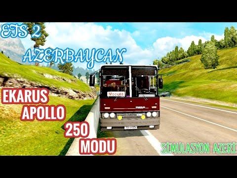 ETS 2 AZERBAYCAN EN GUZEL AVTOBUS MODU
