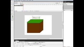 как нарисовать блок майнкрафта в macromedia flash 8(, 2015-12-28T10:18:10.000Z)