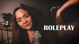 Tyttökaveri-roleplay 2 💕 ASMR Suomi • Yökylässä • Hemmottelua • Herkuttelua