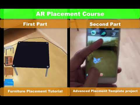 ARCore Unity Furniture Placement AR t Furniture