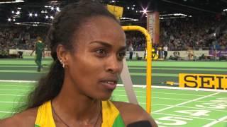 IAAF WIC Portland 2016 - Genzebe DIBABA ETH 3000m Women Final GOLD