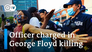 Protests demanding justice for George Floyd spread across US | DW News