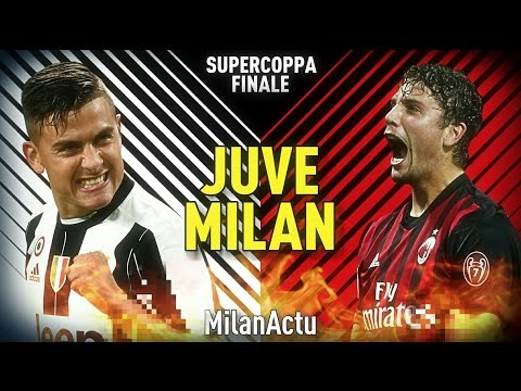 JUVE VS MILAN - HD PROMO | FINALE SUPERCOPPA 2016-2017 | By MilanActu
