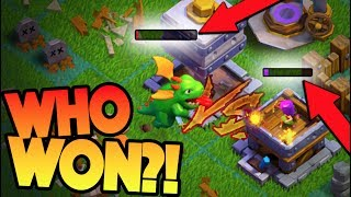 YOU WILL NOT BELIEVE THE OUTCOME OF THIS BATTLE! + COMPLETELY MAXING OUR NEW BASE IN CLASH OF CLANS!