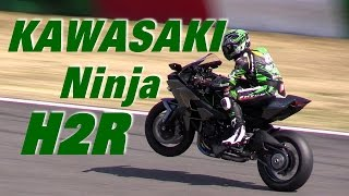 300馬力モンスター!!! カワサキ Ninja H2R デモ走行 KAWASAKI NINJA H2R DEMONSTRATION RUN SUZUKA CIRCUIT thumbnail