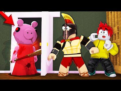 ¡IMPOSIBLE ESCAPAR DE PIGGY! 😱 PEPPA PIG NOS PERSIGUE EN LA CASA DE GRANNY 😭 ROBLOX