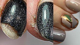 Что я сделала не так Сколы Отслойки Супер дизайн ногтей с втиркой Маникюр