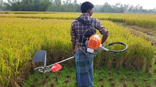 Rice Harvesting Machine