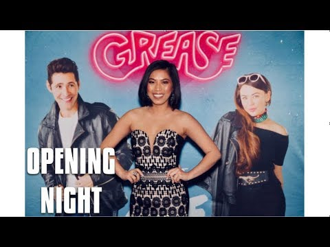 GREASE TORONTO OPENING NIGHT | Sindy with an S' Vlog [018]