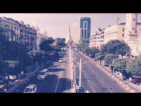 Daily life of Yangon