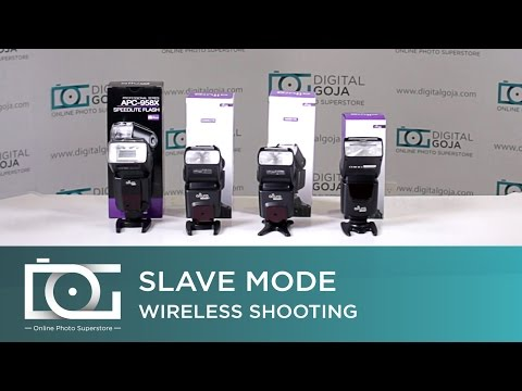 SLAVE MODE CAMERA SETTINGS | Trigger a Flash Wirelessly by Using Slave Mode | Altura Photo® Flashes