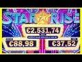 🌟 STAR RISE Slot Machine 🌟 BIG WIN BONUS  🌟 IGT Pokies Spielo Merkur Novoline Spielhalle