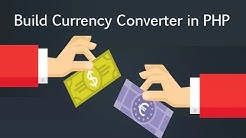 Create currency converter in PHP