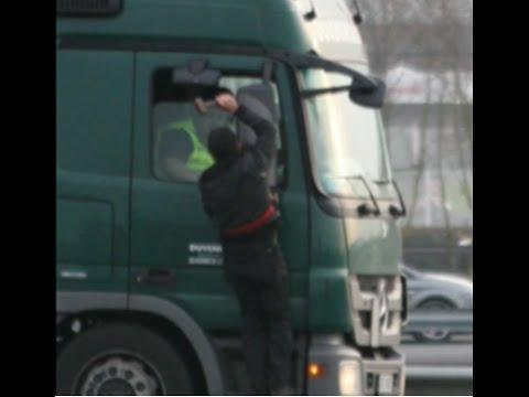 attaques de camions à Calais