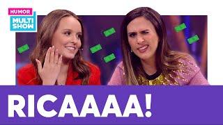 VIDA DE RICA! Larissa Manoela confessa pra Tatá Werneck que ainda ganha mesada!   Lady Night