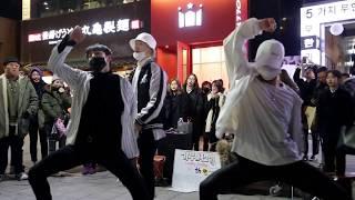 JHKTV]홍대댄스 연합댄스hong dae k-pop dance united dance the eve 전야
