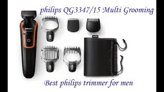 Best Multi Grooming Trimmer Philips QG3347 For Mens