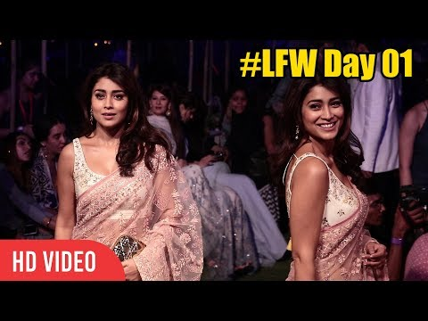 Shriya Saran At Lakme Fashion Week 2018