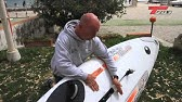 Assembling the Mast and Sail for the Windsurfer - YouTube