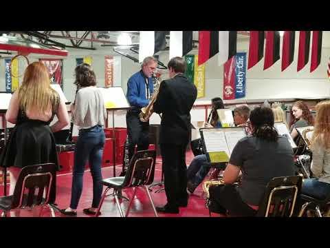 Hit the Road Jack by Ray Charles performed by Waitsburg High School Jazz Band