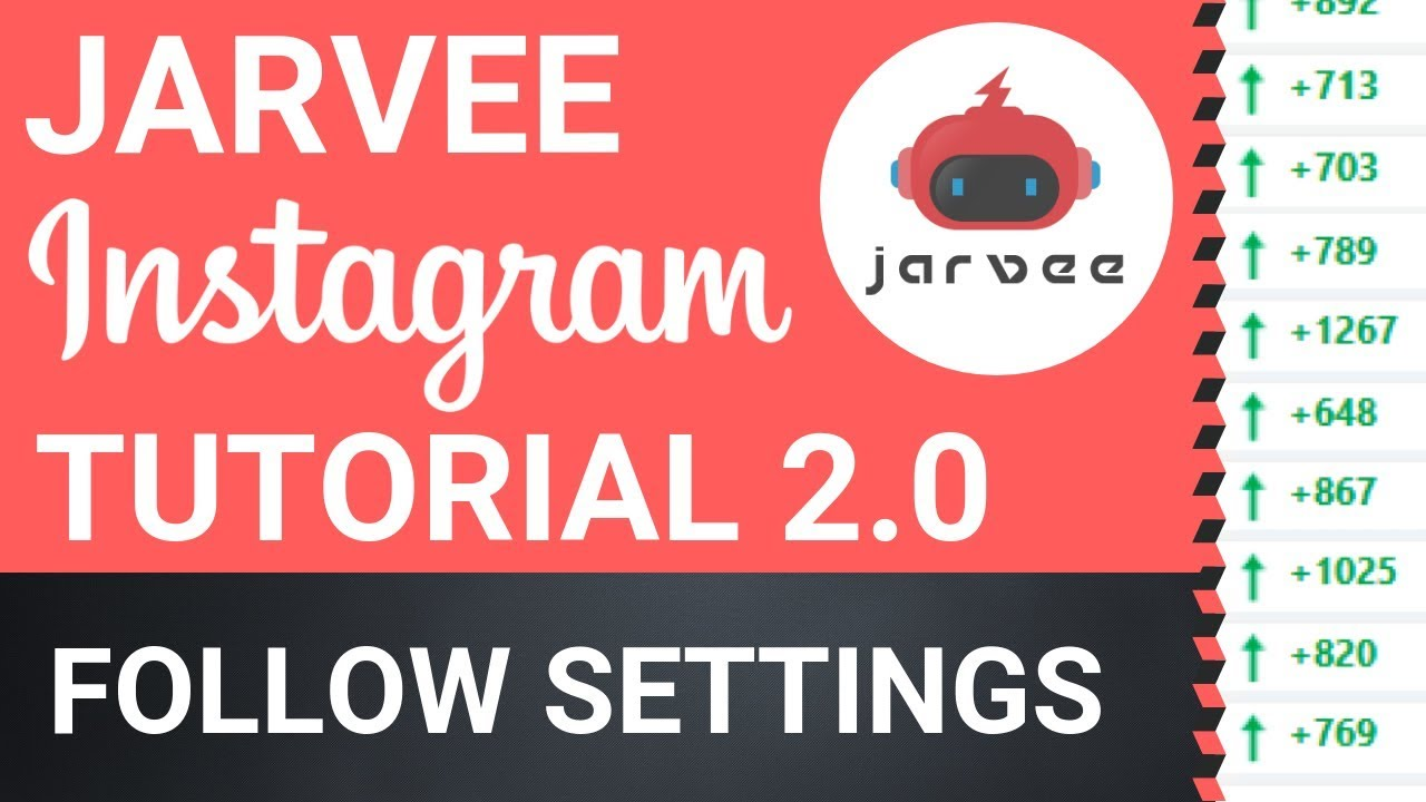 Jarvee Instagram Tutorial 2019 - Safe Settings