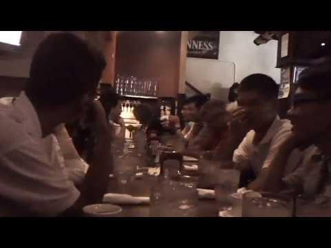 MAH00017 2013-07-24 O'Leary's Irish Pub, Engineering Students Zhejiang University of Technology