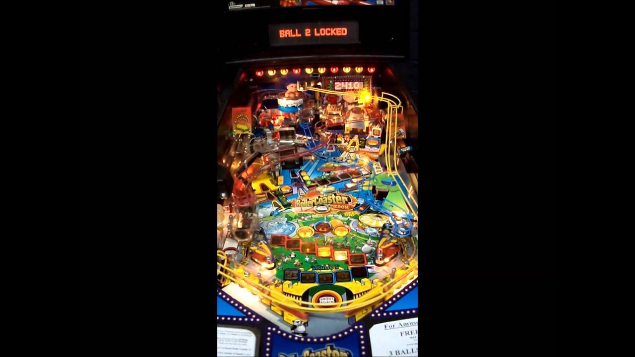 Download Roller Coaster Tycoon Pinball Machine