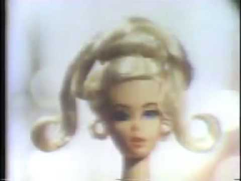 Vintage 70s Barbie W Pretty Growing Hair Commercial Youtube