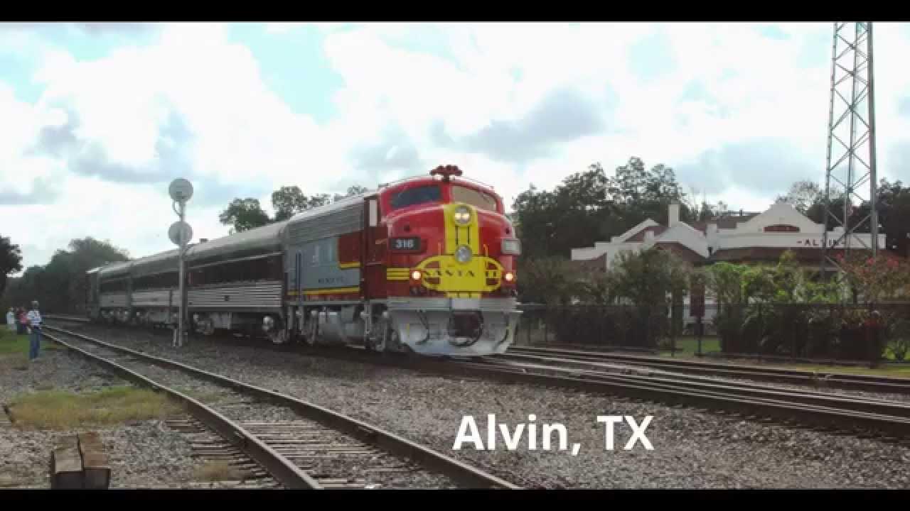 The Galveston Railroad Museum Special (2014) - Galveston ...