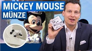 Mickey Mouse Münze 💰 Plane Crazy 2016 PP 💰 1 Unze Silber (inkl. Etui & Zertifikat)