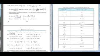 Урок №2  Основні задачі на первісну