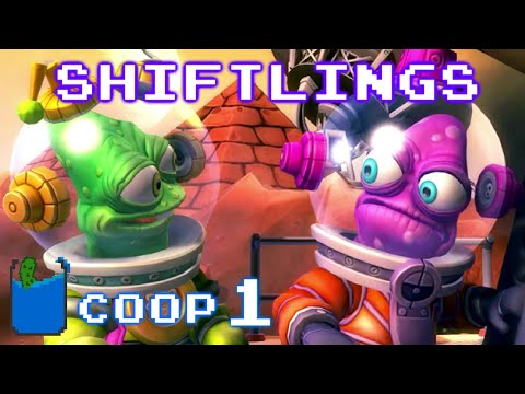 Shiftlings: Co-op Playthrough - Event Horizon Levels 1-5